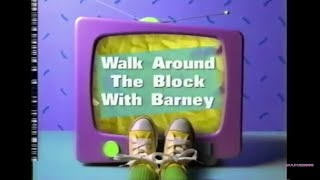 Walk Around The Block With Barney Play Along [Final Release]