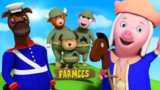 Yankee Doodle Went To Town | Nursery Rhymes | Kids Songs | Rhyme For Children | Baby Song