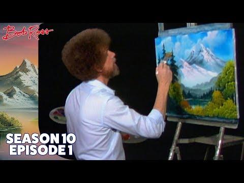 Bob Ross - Towering Peaks (Season 10 Episode 1)