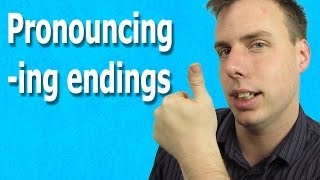 Reduction of -ing | Natural English Reductions
