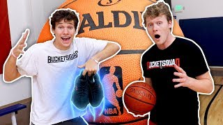 1 V 1 BASKETBALL VS MY BROTHER! FOR *RARE* YEEZYS!