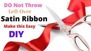 #flowermaking #ribbonflowers #Handcraft  Easy Ribbon Flower |  Handmade | Aloha Crafts
