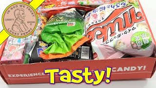 Candy & Snacks! Japan Crate Monthly Subscription Box My Favorite Snack!
