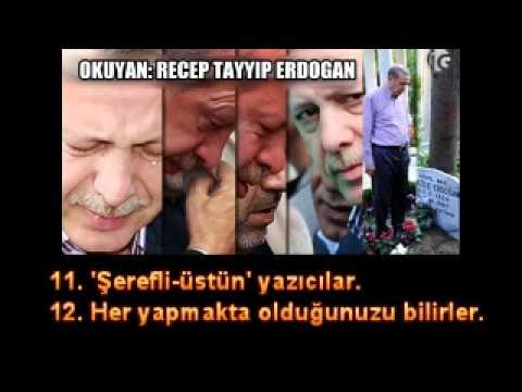 Basbakan Recep Tayyip Erdogan Annesine KURAN OKUYOR TÜRKCE MEALI