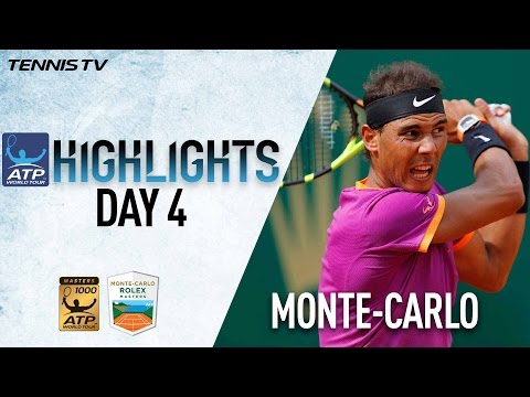 Monte Carlo Highlights Nadal Murray Wawrinka Advance On Wednesday