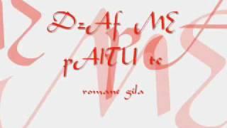 romane Gila ,, mato (chorus)  dZAV ME Pal TUTE