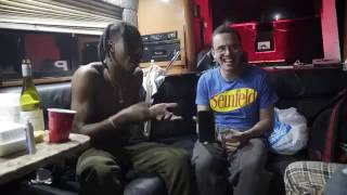 Logic and Joey Bada$$ Freestyling