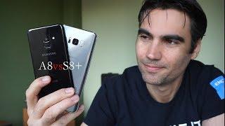 Samsung Galaxy A8 2018 vs Galaxy S8 Plus | review comparativa en español