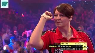 BDO Lakeside World Championship - Ladies Final - Ashton vs Sherrock part 2