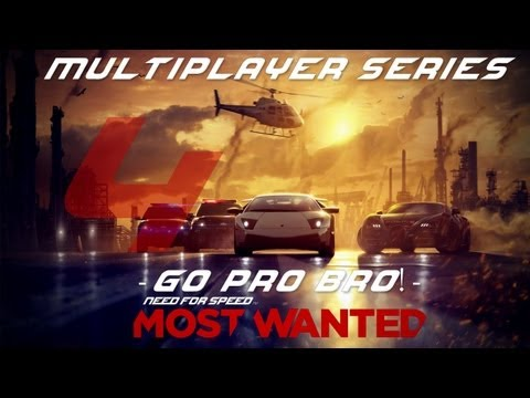 NFS Most Wanted MP #4 - Go Pro Bro! Part II