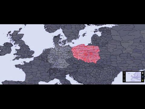 Germany vs Poland war simulation