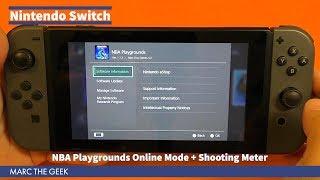 NBA Playgrounds Online Mode + Shooting Meter