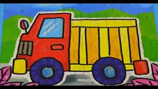 KIDS PUZZLE SERIES - TRUCK