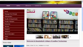Web Design Bangla Complete Tutorial Part.6 Slideshow