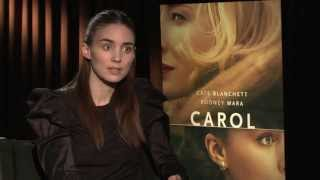Rooney Mara dishes the romantic film 'Carol' and working with Cate Blanchett