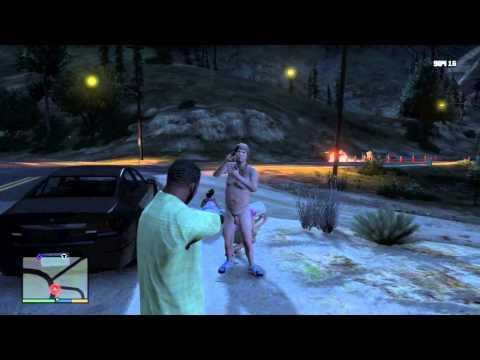 GTA V: Witnessing a RAPE/Cannibal scene! + Haunted Car!