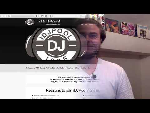 iDJPool MP3 Download Pool For DJs Talkthrough