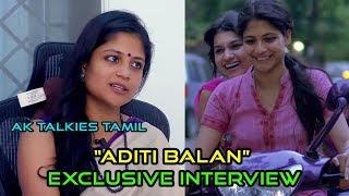 Aruvi Movie | Aditi Balan Interview | Ak Talkies Tamil