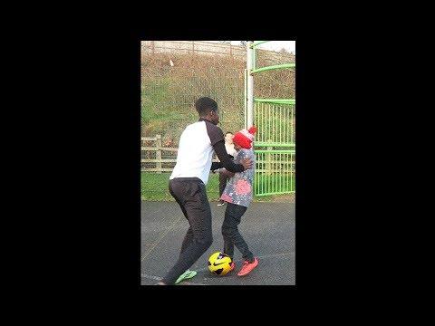kid gets revenge on bully in football match