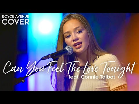 Can You Feel The Love Tonight The Lion King Elton John Boyce Avenue ft. Connie Talbot cover