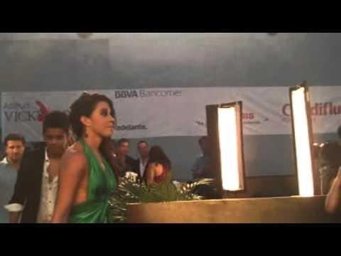 Angelique Boyer y Sebastian Rulli Alfombra roja de los Premios Tv y Novelas 2011