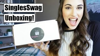 SinglesSwag Unboxing! || Subscription Showcase ft. Cratejoy!