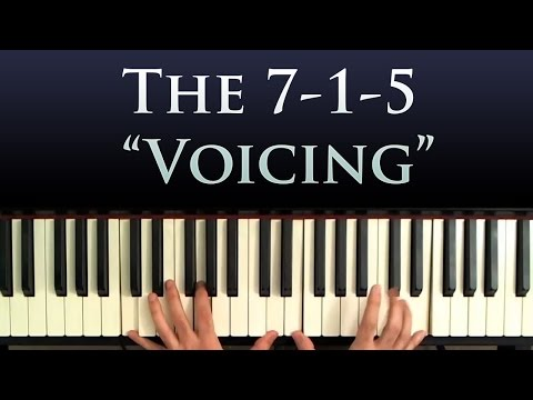 Harmony and Chord Tricks: The 7-1-5 Voicing