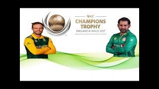 pakistan vs south africa match ICC Champions Trophy 2017.