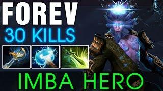 FoRev Monkey King Gameplay - IMBA HERO with 30 KILLS - Dota 2 Patch 7.00