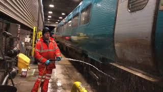 Arriva Train Cleaning with Impact Heavy Duty Cleaner