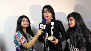 Mahiya Mahi, RJ Saimur &  Nisha Live@ BABISAS AWARD :: Swadesh.tv