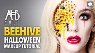 AHS: Cult Beehive Halloween Makeup Tutorial