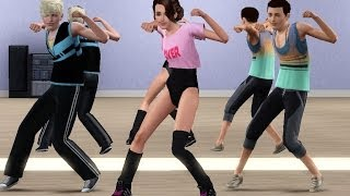 Sims 3 - Dance animations MMD (Turn up the love - far east movement)