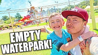 ADVENTURE WORLD - The Park Was Ours!