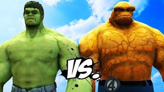 THE HULK VS THE THING - EPIC SUPERHEROES BATTLE | DEATH MATCH