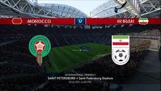 FIFA 18 WORLD CUP PREDICTIONS MOROCCO VS IR IRAN