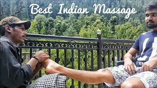 Best Indian Massage- Leg & Foot Massage by Ravi | ASMR