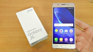 Samsung Galaxy J5 (2016) Unboxing, Setup & First Look! (4K)