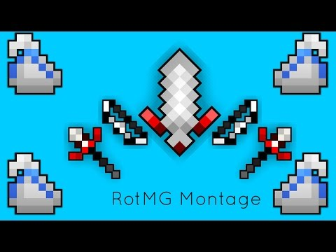 RotMG Montage: White Bags, Deaths, Close Calls and More!