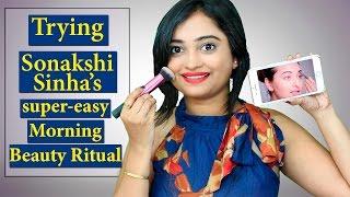 Trying Sonakshi Sinha