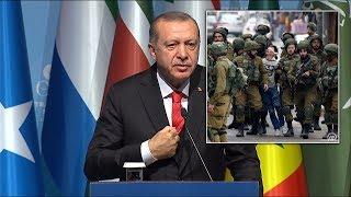 Kudüs zirvesi sonrası Erdoğan
