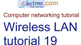 Wireless Network LAN concepts in Hindi Urdu , Computer Networking tutorial 19 lecture