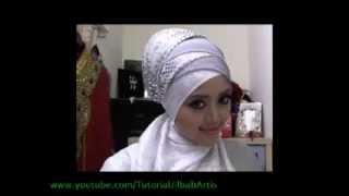 Tutorial Jilbab Terbaru Ala Anggun Muslimah redo heejab pengantin pesta dan wisuda