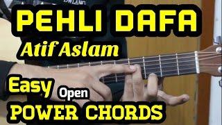 Pehli Dafa Guitar Chords Lesson | Atif Aslam | Ileana | Power Chords | Tab | Cover | For Beginners