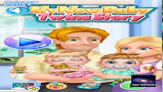 """Download Gratis Game ini """" My New Baby Twins Story """""""