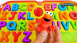 Learn ABC's for Toddlers Alphabet Spelling Words for Kids with Elmo Preschool Learning Video!