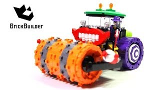 Lego Super Heroes 76013 Batman: The Joker Steam Roller - Lego Speed Build