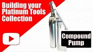 Platinum Drywall Tools Compound Pump