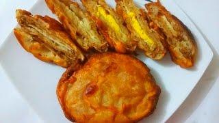ডিমের পান্তুুয়া পিঠা||Bangali Dimer Pantua Pitha Recipe||Eggs Pantua Cake Recipe||