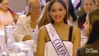 Entrevista Andrea Tovar Miss Colombia 2016 para en Exclusiva RCN